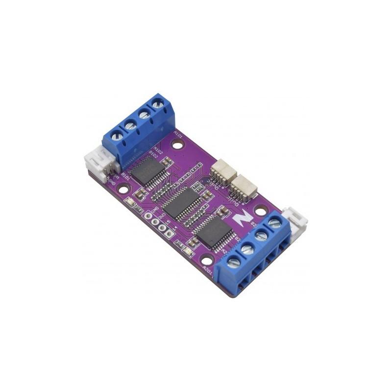 Moduł ZIO QWIIC 4 DC MOTOR CONTROLLER 2.5 TO 13.5V 1.2A CONTINUOUS 3.2A PEAK - AmexLab.com.pl