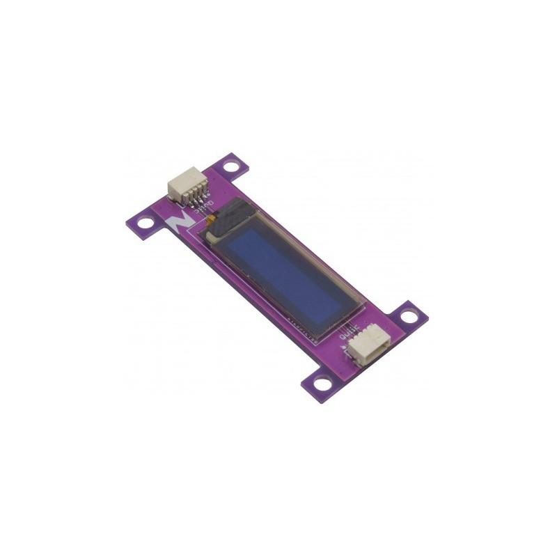 Moduł ZIO QWIIC Wyświetlacz OLED DISPLAY 0.91 IN 128X32 - AmexLab.com.pl